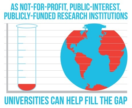 Universities Fill the Gap